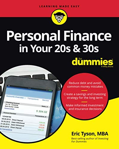 Compare Textbook Prices for Personal Finance in Your 20s & 30s For Dummies 2 Edition ISBN 9781119431411 by Tyson, Eric