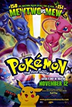 Pop Culture Graphics Pokemon: The First Movie Poster Movie B 11x17 Veronica Taylor Rachael Lillis Eric Stuart Ikue Ootani
