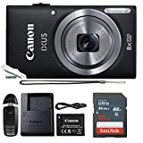 Powershot Ixus 185 / ELPH 180 20MP Compact Digital Camera Black with 16GB Memory Card
