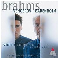 ブラームス: ヴァイオリン協奏曲 & ヴァイオリン・ソナタ第3番<SHM-CD>