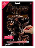 Royal Brush Manufacturing FOIL ENGRAVING ART HUMMINGBRD, us:one size, Hummingbird Trio