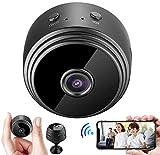 Mini cámara, cámara inalámbrica HD 1080P, cámara WiFi portátil, notificación instantánea, reproducción remota, función magnética, Mini cámara V380 Pro App