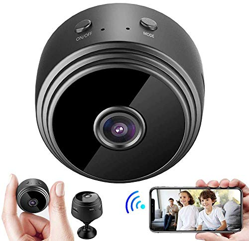 Mini cámara, cámara inalámbrica HD 1080P, cámara WiFi po