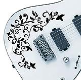 Paquetes de adhesivos con diseño profesional de vid de vida, compatible con todas las guitarras 24 colores disponibles.