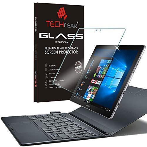 TECHGEAR Vidrio Compatible con Samsung Galaxy Book 2, Book 12 Pulgada - Auténtica Protector de Pantalla Vidro Templado