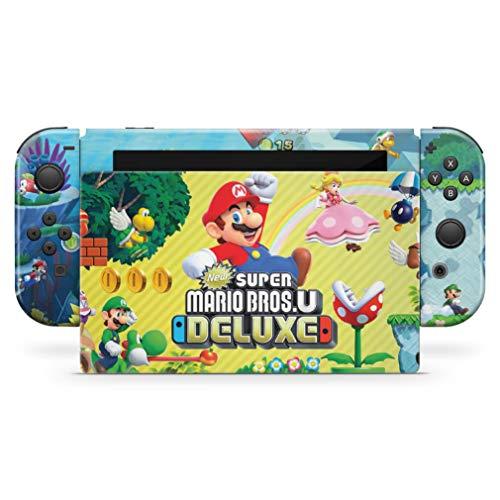 Skin Adesivo para Nintendo Switch - New Super Mario Bros. U