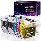 Zambrero LC3219XL Patronen Ersatz für Brother LC3219 LC3217 LC-3219 LC-3217 Druckerpatronen Kompatibel mit Brother MFC-J5330DW MFC-J5335DW MFC-J5730DW MFC-J6930DW MFC-J6935DW MFC-J6530DW MFC-J5930DW