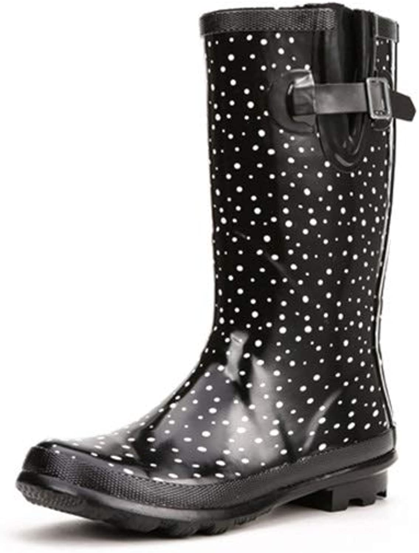 MyeNR MyeNR MyeNR Stövlar, dammode, vattentäta skor för kvinnor, skor utan skor, gummistövlar Vuxna regnstövlar  kostnadseffektiv