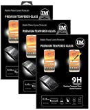 cofi1453 3X Panzer Schutz Glas 9H Tempered Glass Bildschirm Schutz Folie Glas Screen Protector kompatibel mit Motorola Moto E5 Plus