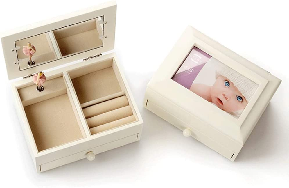 latest Zxb-shop Vintage Musical Box Wooden Frame Photo Music SEAL limited product