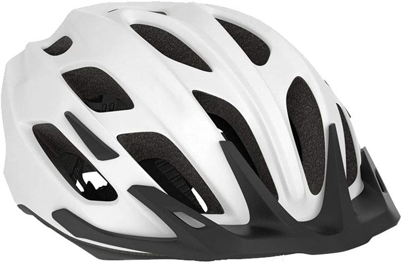 Motorcycle Helmet Helmet, Head Predection Unisex Safety Adjustable Bicycle Helmet (color   C, Size   M) Road Helmet