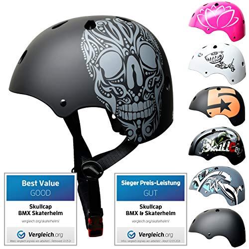 SkullCap® Enfants Skateboard & BMX...