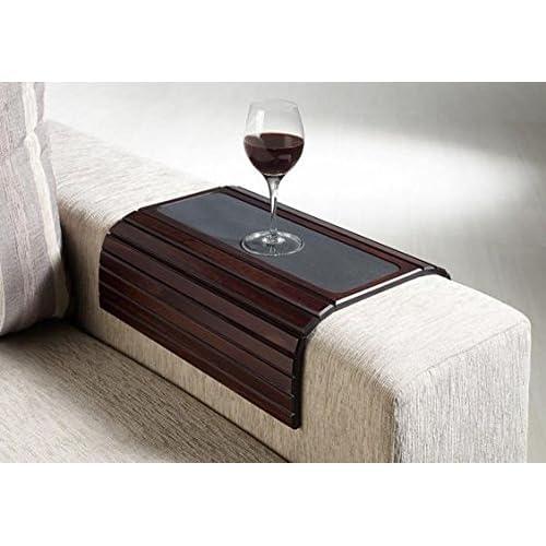 Tremendous Couch Armrest Table Amazon Com Evergreenethics Interior Chair Design Evergreenethicsorg
