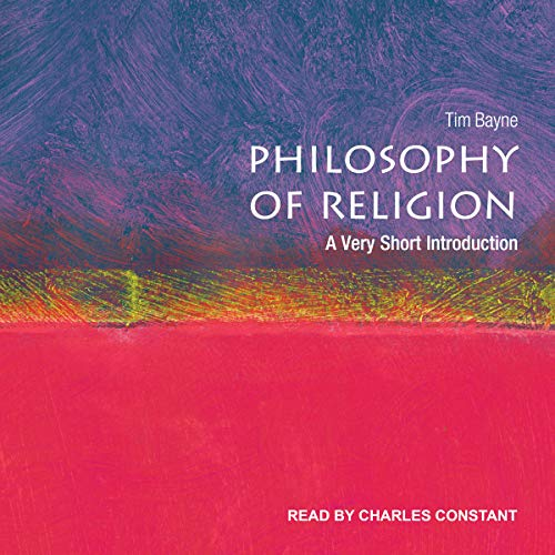 Couverture de Philosophy of Religion