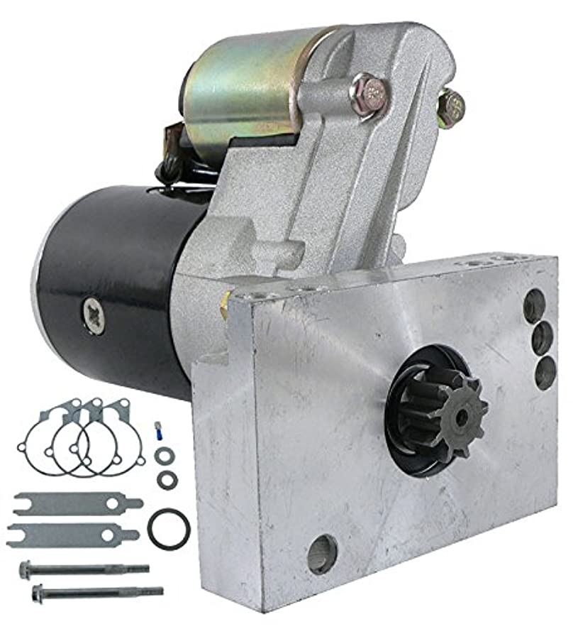 DB Electrical SHI0015 Starter For Chevy 305 350 454 CID Mini Super Torque Series SBC BBC/Gear Reduction, High Performance