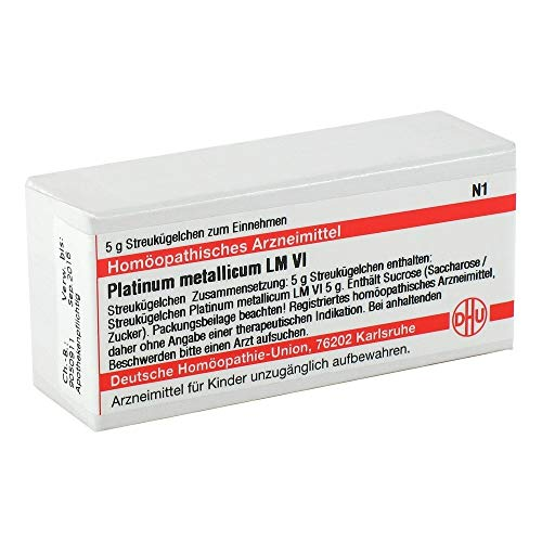 LM PLATINUM metallicum VI Globuli 5 g Globuli