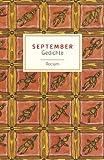 September: Gedichte (Reclams Universal-Bibliothek) - Evelyne Polt-Heinzl