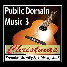 Karaoke Christmas Public Domain Music License Free Royalty Free Music Vol.3