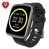 Montre Connectée pour iPhone et Android,Willful SW018 Smartwatch étanche IP68 Montre Sport...