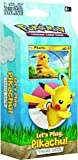 Pokémon POK80615 TCG: Let's Play Pikachu/Eevee Theme Deck (uno al Azar)