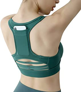Gather Sports Bra shakproof Back mesh Vest Bra Sports Underwear