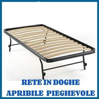 Rete Letto Pieghevole.Rete A Doghe Strette Estraibile Per Letto Singolo 80x185
