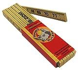 Rhino Rulers Folding Modular Brick Spacing Ruler 6' Length - 55120