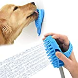 Aquapaw Pro Dog Bathing Tool and Slow Treater Combo - Lick Mat Suctions to The Wall or Floor for Anxiety-Free Pet Grooming - The Sprayer and Scrubber Works with Indoor Shower or Outdoor Garden Hose