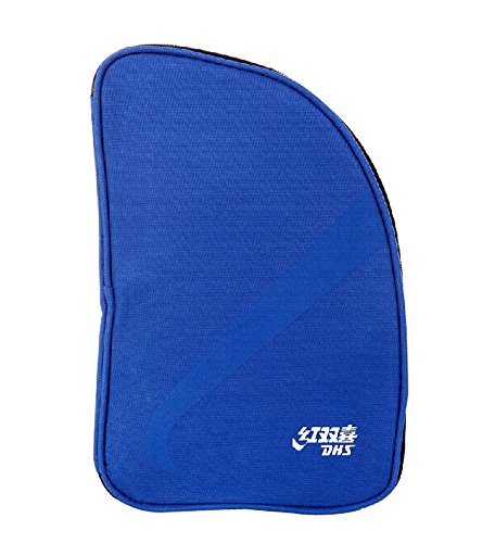 Best Review Of Table Tennis Equipment Fan-shaped Ping Pong Paddle Bag BLUE