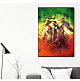 hetingyue Sin Marco Celebrity Master Poster Wall Living Room Abstract Graphic Art Mural 40x60CM