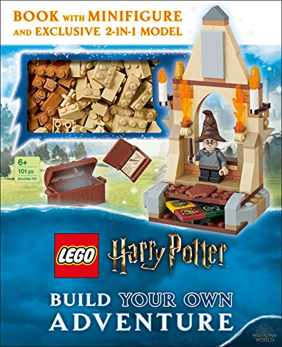 LEGO Harry Potter Build Your Own Adventure: With LEGO Harry Potter Minifigure and Exclusive Model (LEGO Build Your Own Adventure) (Hardcover)