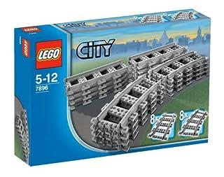 LEGO City 7896 - Gerade und gebogene Schienen (B000EXN8E8) | Amazon price tracker / tracking, Amazon price history charts, Amazon price watches, Amazon price drop alerts