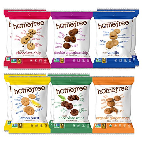Homefree Treats You Can Trust Single Serve Variety Pack 10 Count