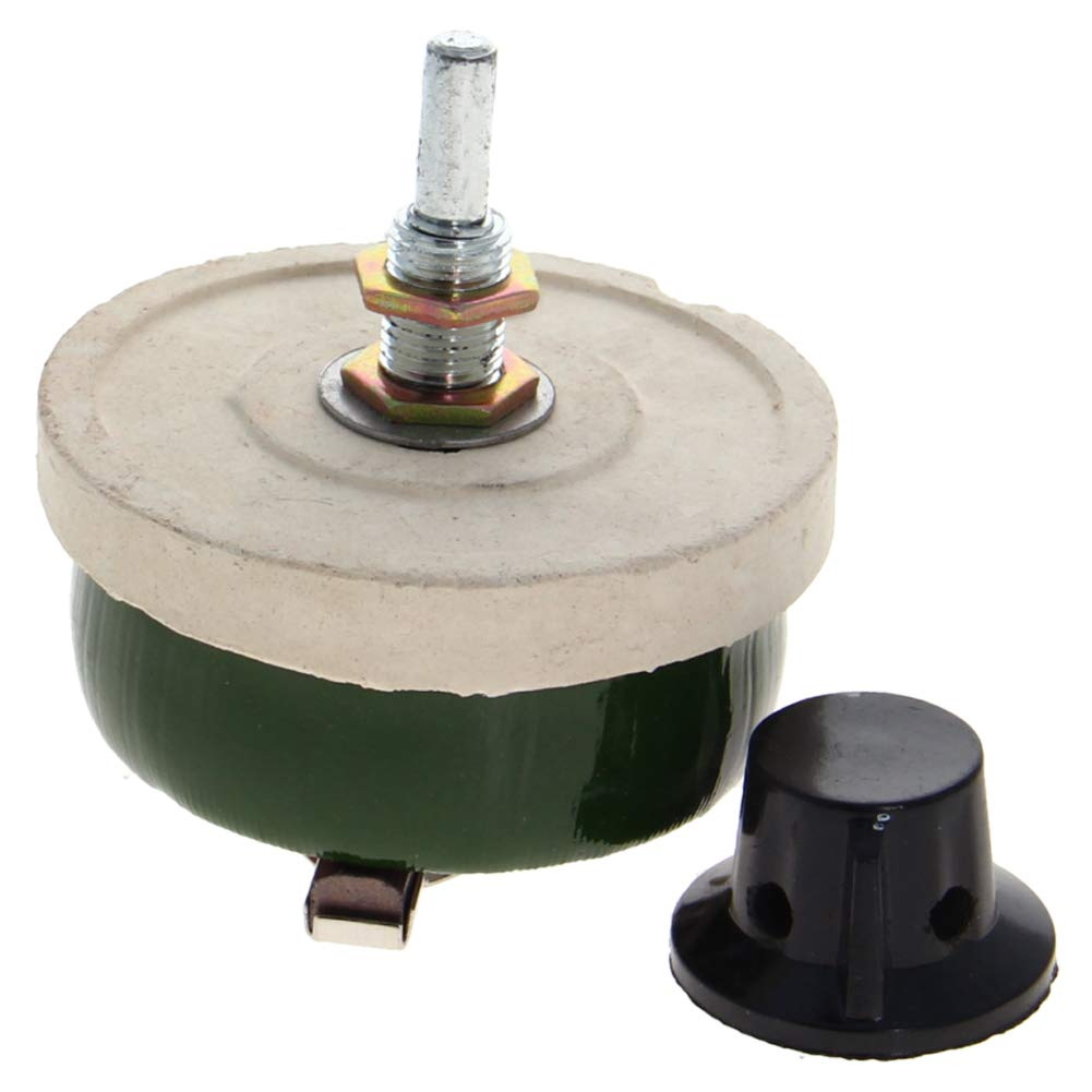 Fielect 50W 500R Ohm Ceramic Wire depot Wound Potentiometer shop Linear Rot