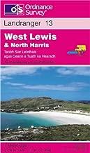 West Lewis and North Harris (Landranger Maps)