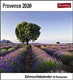 Provence Postkartenkalender 2020. Wochenkalendarium. Blockkalender. Format 16 x 17,5 cm - Harenberg
