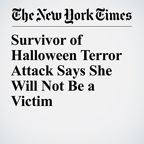 Survivor of Halloween Terror Attack Says She Will Not Be a Victim copertina