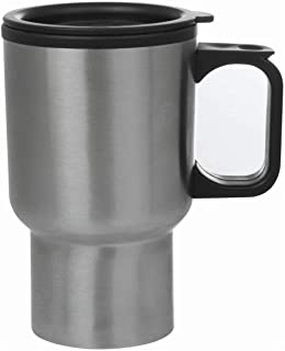 Maxam KTMUGPL Stainless Steel Travel Mug, 14-Ounce