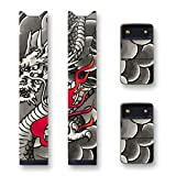 Biijo Japan Juul Skin - 2 Pack - Wrap for juul Accessories Sticker Hokusai Utagawa Kuniyoshi UKIYOE (hanafuda-ryu)
