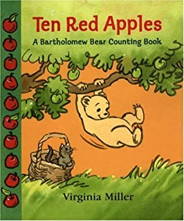 Ten Red Apples: A Bartholomew Bear Counting Book (George and Bartholomew)