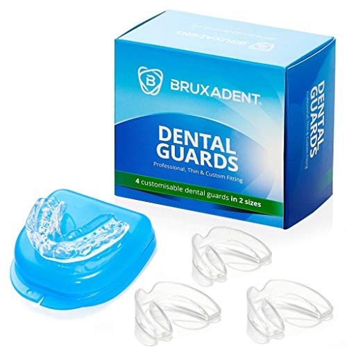 BRUXADENT Dental Mouth Guards for Teeth Grinding x 4No | CE Marked Class 1...