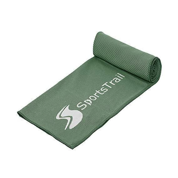 Cooling towel (40x12''& 50x20''& 60x30'') ice sports towel, stay cool with microfiber towel for all activities, keep cool with chilly towel, yoga, fitness, gym or golf towel for instant relief+pouch 4 premium quality - our cooling towel is made of super feelcool ice hyper-evaporative breathable material. It is silky soft and eco friendly. Sportstrail chilly towel dries soft, doesn't drip water and guarantees instant cooling effect. It is your perfect companion for all activities! Easy to use & instant cooling effect - ice towel is very easy to use, simply wet it, wring out any excess water, stretch it out few times and is ready to use. To reactivate, simply rinse and repeat the process and you can use it over and over again. Unlike pva cooling towel, our compact microfiber towel is pleasant to touch, easily folds up and fits into any bag versatile (multifunction) - ice microfiber towel is perfect for all indoor and outdoor activities. You can use it as cooling bandana, scarf, headband, neck wrap and because of its super absorption ability you can also use it as yoga towel, fitness towel, sports towel, gym towel, sup towel or golf towel. It is also suitable for pets.