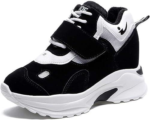 He-yanjing Chaussures de Sport pour Femmes, Chaussures de Sport artificielles et décontractées pour Femmes Occasionnelles Ont augHommesté grace aux Nouvelles Chaussures de Sport