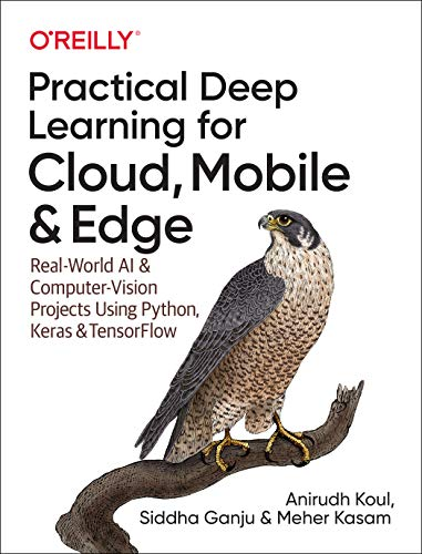 Practical Deep Learning for Cloud, Mobile& Edge: Computer Vision Projects Using Python, Keras & TensorFlow