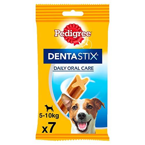 Pedigree Dentastix Snack Dental para la Higiene Oral de Perros Pequeños (10 paquetes de 7ud)