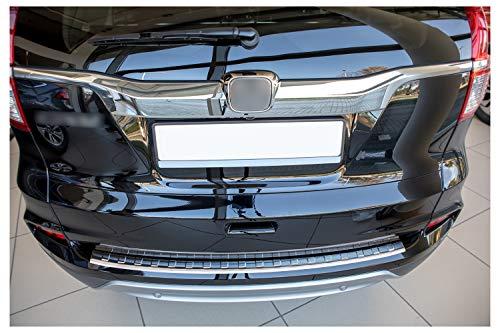tuning-art L199 Edelstahl Ladekantenschutz für Honda CR-V 4 2015-2018 5 Jahre Garantie