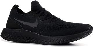 Nike Mens Epic React Flyknit Running Shoes Black/Black/Black AQ0067-003 Size 13