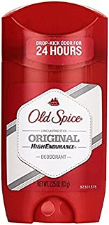 Old Spice High Endurance Deodorant Long Lasting Stick Original by Old Spice for Men - 2.25 oz Deodorant Stick, 66.53 milliliters