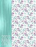 2022 - 2026 Pianificatore per 5 Anni - Boho Floral: Agenda Quinquennale Italia I Regalo Calendario I Note I Lista di cose da fare I Annuale e Mensile