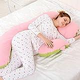 Pillow-LQ Almohada para Mujer Embarazada Almohada Lateral Almohada para Mujer...